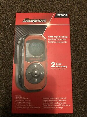 snap on tools video inspection scope brand new never been used latest model