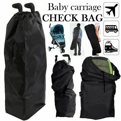 Waterproof Pushchair Buggy Car Plane Travel Bag Umbrella Stroller  Bag Cover