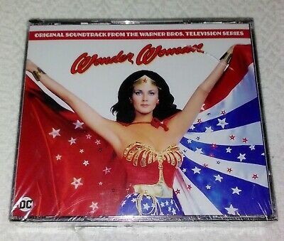 Wonder Woman Original Television Sountrack 3 CD Set Limited Edition