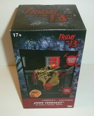 Friday The 13th Halloween Projector Light Jason Voorhees 2 Effects Mask Machete