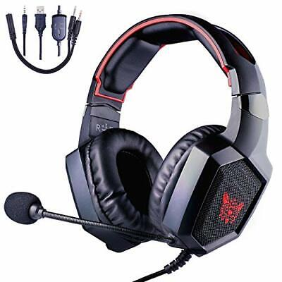 ONIKUMA Gaming Headset K8 Xbox One Gaming Headset 3,5 mm Stereo Wired Over-Ear