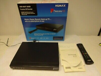 Humax Hdr-1800T 320Gb Freeview Hd Recorder. Boxed.