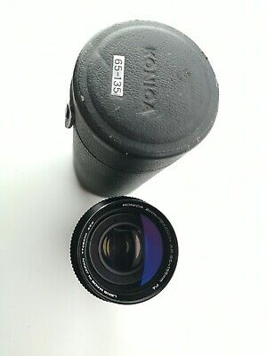 Konica Zoom-Hexanon AR 65-135mm F4 Lens made in Japan gorgeous optics