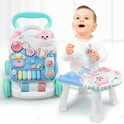 Baby first step Walk 'n' Write 4 In 1 Musical Sounds Push Along activity walker