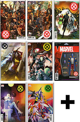 HOUSE OF X / POWERS OF X #1,2,3,4,5,6 Variant, Exclusive+ ~ Marvel Comics