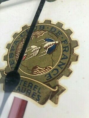 Vespa O Lack Uhr Frankreich Industrie Look Vespa Club France Badge
