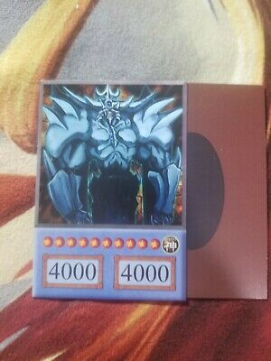 PROXY YUGIOH Obelisk the Tormentor/COMMON NM Anime Style