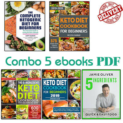 The keto diet cookbook for beginners 2019 - 	keto diet book (Set 5 єBooks ᑭ.ᗪ.ᖴ)