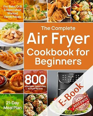 The Complete Air Fryer Cookbook for Beginners (Ë-B00ks ᑭ.ᗪ.ᖴ) 🔥Fast Delivery🔥