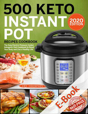 500 Keto Instant Pot Recipes Cookbook ËBooks EPUB/P.D.F-Fast delivered Via Email