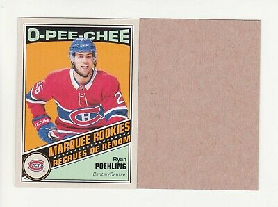 2019-20 O-Pee-Chee Ryan Poehling Retro Blank Back Parallel RC (19-20) OPC