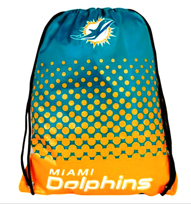 Miami Dolphins NFL Fade Design Gym bag  NEW