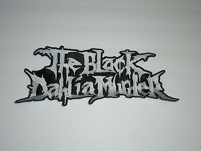 The Black Dahlia Murder Embroidered Back Patch