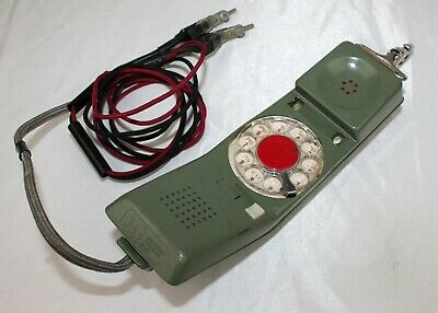 NORTHERN TELECOM Model RD 1967 ~ Lineman's Rotary Telephone Butt Set
