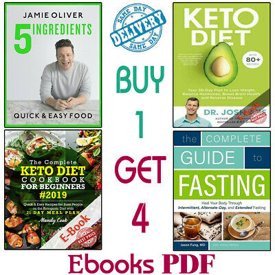 The Complete Keto Diet Cookbook For Beginners 2019 🔥(SET 4 ËBooks ᑭ.ᗪ.ᖴ) 🔥