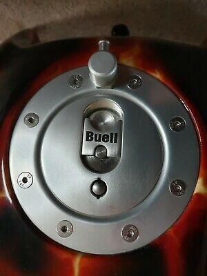 Buell Tube Frame Petrol/Gas/Fuel Cap & Breather/Rollover Valve