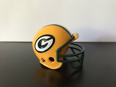 Green Bay Packers Mini Riddell Pocket Football Helmet NFL 1997 Vintage