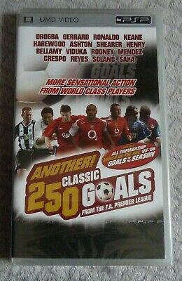 Another 250 Classic Goals Premier League 05-06 PSP UMD Region Free NEW SEALED
