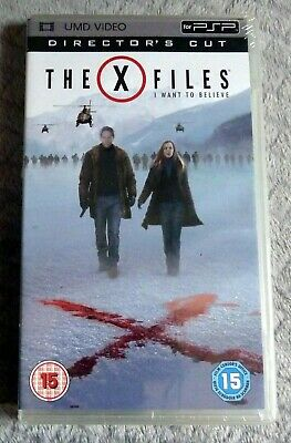 THE X FILES I Want To Believe Directors Cut PSP UMD Region Free NEW SEALED