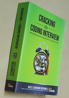 Cracking the Coding Interview : 189 Programming Questions and Solutions,