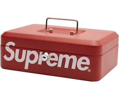 Supreme Lock Box Brand New Authentic