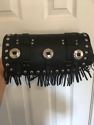 Motorcycle Tool Roll Pouch Leather