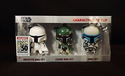 SDCC 2019 Monogram Star Wars Boba Fett – 3D Foam Bag Clips Exclusive