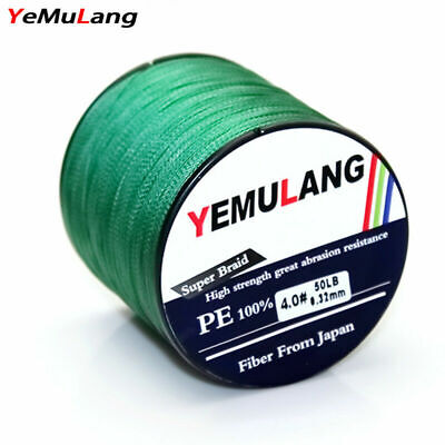 YeMuLang 300M 4Strands Multifilament PE Braided Fishing Lines Fly Fishing Thread