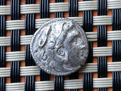 Alexander Iii The Great 336-323 Bc Ar Drachma Ancient Greek Coin