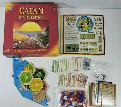 CATAN Family Edition - Trading, Strategy, Tactical Skill Board Game - COMPLETE
