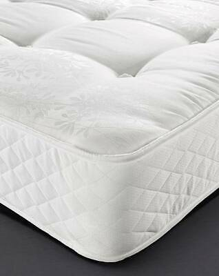 "2000 Series ""Orthopaedic Reflex Sprung Comfort Dream Firm"" Mattress- Made In Uk"
