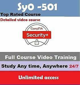 CompTIA Security+ Plus Certification (SY0-501) Video Course