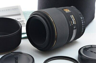 【TOP MINT】 SIGMA 105mm f/2.8 EX DG MACRO Lens for Nikon w/ Case from Japan #1643