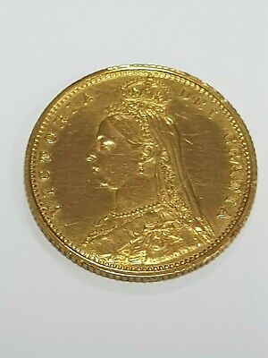 1887 half gold sovereign check out my others