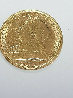 1896 half gold sovereign check out my others