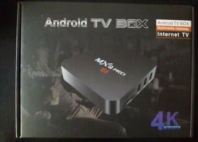 MXQ Pro 4K - Android Tv Box - FEEL THE POWER - QUAD CORE