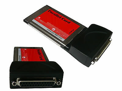 Card Pcmcia Cardbus - Parallel IEEE1284 - Chipset Moschip