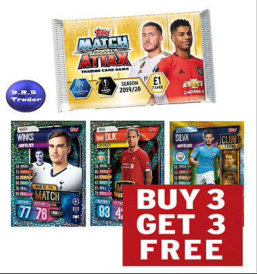 Match Attax 2019/20 19/20 Man of the Match MVP Club Legend - BUY 3 GET 3 FREE