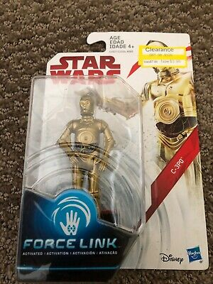 Star Wars Force Link C-3PO 3.75 Inch Action Figure NIB