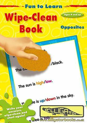 FUN TO LEARN WIPE CLEAN  Opposites