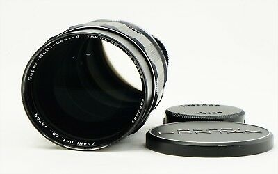 Pentax SMC Takumar 135mm f/2.5 MF telephoto Prime Lens for M42 from Japan Exc++