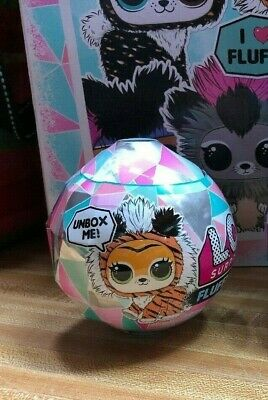 Lol Surprise Winter Disco Fluffy Pets **  Sealed Ball In Hand  New