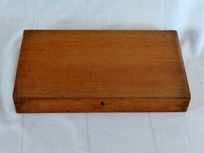 ANTIQUE WINSOR & NEWTON Wooden PAINT BOX c1890 RARE ILLUMINATING