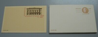 Lot 20 Vintage 13 Cent Usps Postcards 1981 & 1982-Philadelphia -Never Used- Mint