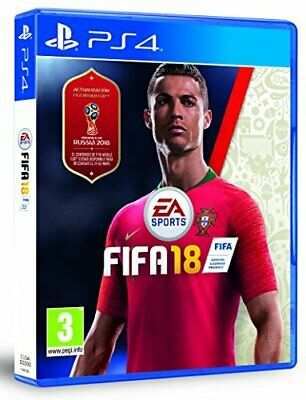 JUEGO SONY PS4 FIFA 18 - Game  3FVG The Cheap Fast Free Post