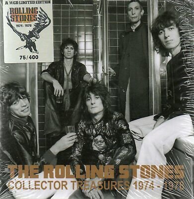 The Rolling Stones - Collector Treasures 1974-1978 - 14Cd Box-Set N°56/400 - New