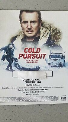 Cold Pursuit UHD Digital Movie Only Liam Neeson