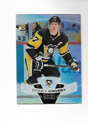 2019-20 O-Pee-Chee Platinum Sidney Crosby Preview Card # P-15 (19-20) OPC