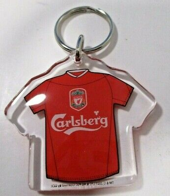 Official Liverpool Gerrard Keyring On Card
