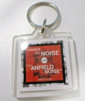 Official Liverpool There`s No Noise Like The Anfield Noise Keyring